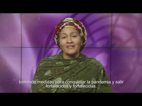 La mujeres líderes se levantan para salvar las vidas en el marco del COVID-19